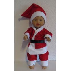 kerstman pak little baby...