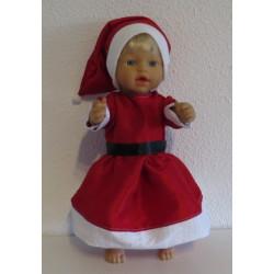kerstvrouw jurk little baby...