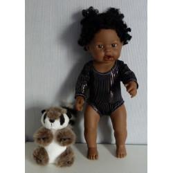turnpakje zwart little baby...