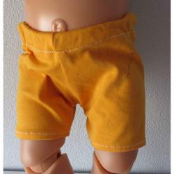 korte broek oker geel baby...