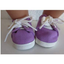 zomer sneakers paars baby...