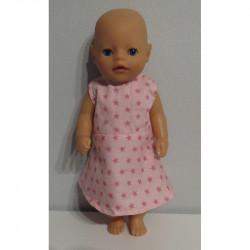 jurk roze sterren baby born...