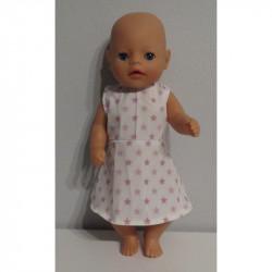 jurk baby met oud roze...