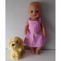 zonnejurk roze baby born...