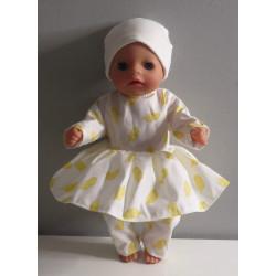 hippejurk veren geel baby...