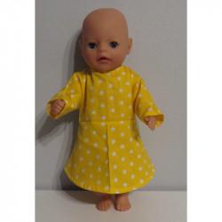 jurk geel met sterren baby...