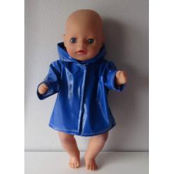 regenjas donker blauw baby...