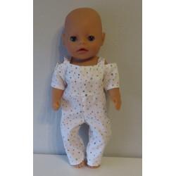 jumpsuit stippen baby born...
