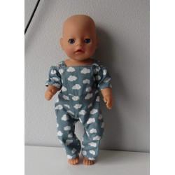 jumpsuit wolken baby born...