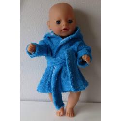 badjas blauw baby born...