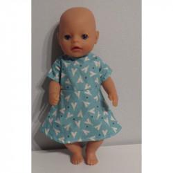 jurk tipi baby born little...