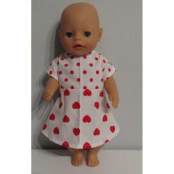 jurk met rood baby born...