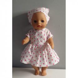 jurk sterren roze baby born...