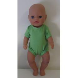 romper groen baby born...