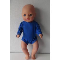 romper donker blauw baby...