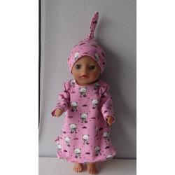 nachtjapon roze beren baby...