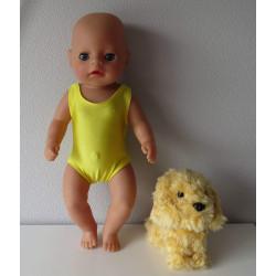 zwempak geel baby born...