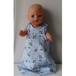 slaapzak blauw beren baby...