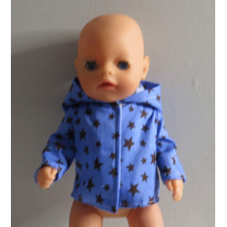 jas blauw sterren baby born...