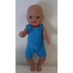 boxershort setje blauw baby...