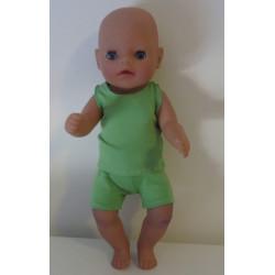boxershort setje groen baby...