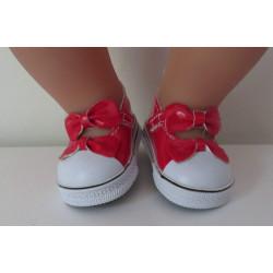 lak schoentjes rood baby...