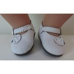 schoentjes wit met strikje...