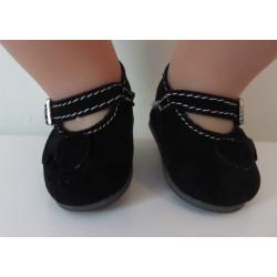 schoentjes zwart met...