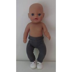 legging grijs baby born...