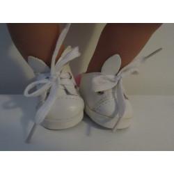 schoentjes wit konijn baby...