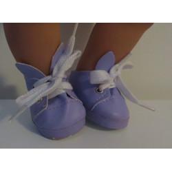 schoentjes lila konijn baby...