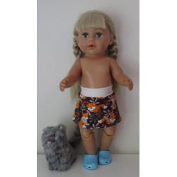 rok vossen baby born 43cm