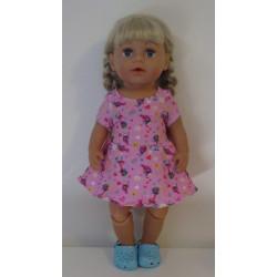 jurk kort poppenmaat 43cm