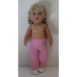 broek roze baby born 43cm