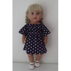 jurk blauw american...
