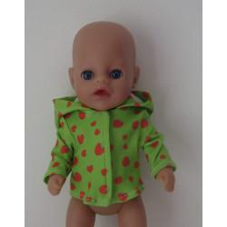 jas groen aardbeien little...