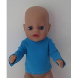 shirtje blauw little baby...