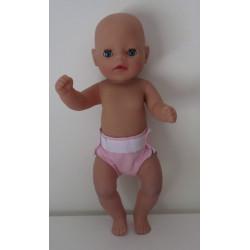 luier roze  baby born...